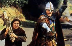 Dans Les visiteurs I, un noble, le comte de Montmirail, guerrier de Louis VI et son écuyer sont parachutés dans le futur.