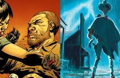 The Walking Dead, tome 25: Sang pour sang et L'homme qui tua Lucky Luke, de Matthieu Bonhomme, occupent les deux premières places du classement hebdomadaire des ventes de bandes dessinées.