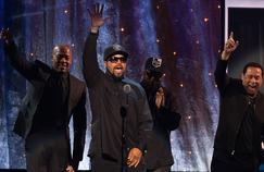 La cérémonie d'intronisation de N.W.A. au Rock and Roll Hall of Fame de Cleveland a constitué l'une des rares occasions de retrouver les rappeurs de Compton réunis ensemble.