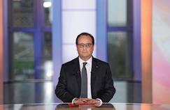 François Hollande, jeudi soir sur le plateau de France 2.