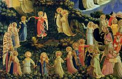 Extrait du Jugement dernier de Fra Angelico - la ronde des saints