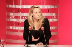 Marion Maréchal-Le Pen, dimanche, au «Grand Jury RTL-Le Figaro-LCI»