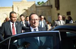François Hollande, lundi au Caire.
