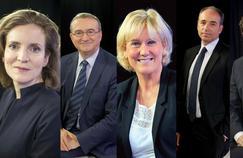 Nathalie Kosciusko-Morizet, Hervé Mariton, Nadine Morano, Jean-François Copé, Geoffroy Didier et Frédéric Lefebvre