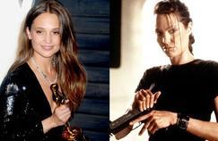 Malgré ce qu'elle annonçait il y a encore un mois au Hollywood Reporter, Daisy Ridley ne devrait pas camper le rôle de Lara Croft. C'est Alicia Vikander (à gauche) qui devrait reprendre le flambeau d'Angelina Jolie (à droite).
