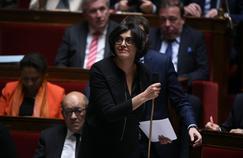 Myriam El Khomri, le 27 avril, à l'Assemblée nationale.