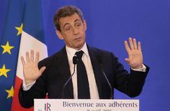 Nicolas Sarkozy, président des Républicains
