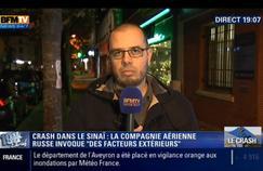 Capture d'écran BFM-TV. Romain Caillet est devenu le consultant «djihadisme» de la chaîne d'info continue.