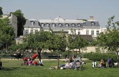Le Jardin Catherine-Labouré (VIIe).