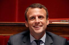 Emmanuel Macron à l'Assemblée nationale, le 10 mai.
