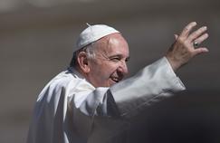 Le pape François, mercredi, place Saint-Pierre (Vatican).