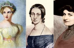 Fanny Mendelssohn (1805-1847), Clara Schumann ( 1819-1896) et Alma Mahler ( 1879-1964).