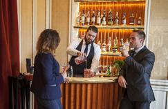 Le bar de Loulou, nouveau restaurant du musée des Arts décoratifs, qui succède au Saut du Loup.