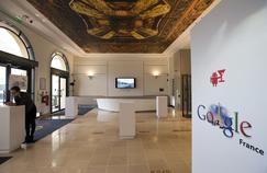 Les locaux de Google à Paris.
