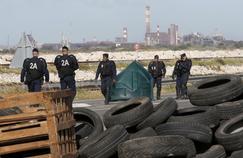 Les CRS sont intervenus ce matin à la raffinerie de Fos-sur-Mer.