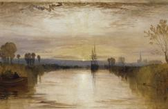 Chicester Canal (1828) de William Turner.