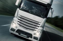 Il faut encore que les automobilistes européens s'habituent à voir circuler des camions autonomes. Photo d'illustration.