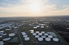Situé à un carrefour d'oléoducs, Cushing, dans l'Oklahoma, est le plus important site de stockage de pétrole des États-Unis.