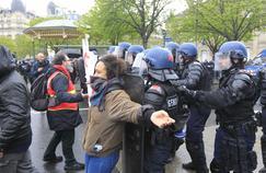 Manifestations contre le projet de loi Travail à Paris