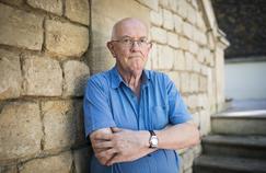 Le philosophe et historien Marcel Gauchet chez Gallimard en 2015.