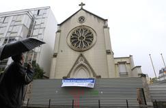 L'église Sainte-Rita, condamnée à la destruction.