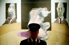 Triptych by Francis Bacon auctioned at Christie's (2008).