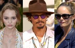 Like Mickey Rourke, Paul Bettany and Lori Anne Allison who gave their support to Johnny Depp, Vanessa Paradis and his daughter, Lily-Rose Melody Depp are mounted slot.