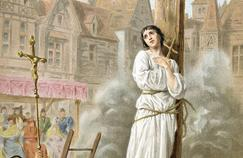 May 30, 1431, Joan of Arc was condemned the punishment reserved for witches on the Place du Vieux Marché in Rouen.