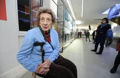 Camille Senon, 93 ans, survivante d'Oradour-sur-Glanes.