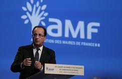 François Hollande, lors du 95e congrès des maires en 2012.
