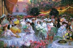 «Rien de plus charmant que le dîner dans le jardin de l'hôtel Ritz, cette oasis de calme fraîcheur au centre de Paris», Le Figaro en 1901.