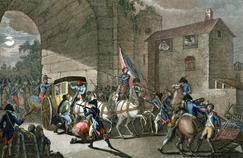 Le roi et la famille royale sont arrêtés à Varennes-en-Argonne le 21 juin 1791.