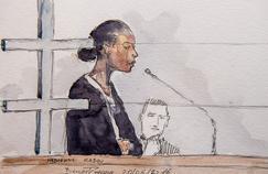 Fabienne Kabou à la barre, lors de son procès.