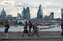 Vue de la City de Londres.
