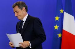 Nicolas Sarkozy, vendredi dernier, après l'annonce des résultats du référendum en Grande-Bretagne