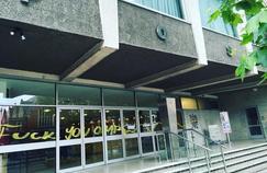 Le centre culturel polonais d'Hammersmith a été tagué dimanche.