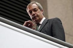 «Un coup de frein à l'immigration européenne, c'est ce que nous ont réclamé 17,5millions d'électeurs jeudi dernier», déclare Nigel Farage (ici le 28 juin à Bruxelles) au Figaro.