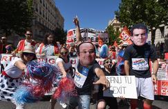 Manifestation contre la loi travail, le 28 juin 2016, à Marseille.