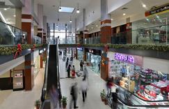 Le développement des centres commerciaux (ici à Port Harcourt, au Nigéria) témoigne de la hausse de la consommation en Afrique.
