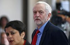Le leader du parti travailliste, Jeremy Corbyn, à Londres jeudi.