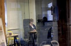 Galina Timchenko, rédactrice en chef de Méduse, un site Internet dissident de langue russe éditée à Riga en Lettonie.