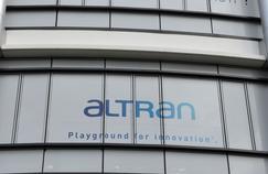 Siège du groupe français de conseil en technologie Altran, à Levallois-Perret (92).
