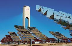 La centrale solaire d'Abengoa, installée en Andalousie, près de Séville.