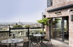 Le Terrass'' Hôtel et sa vue panoramique sur Paris.