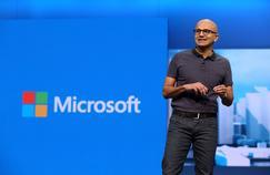 Satya Nadella, le PDG de Microsoft.