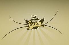 Le logo du site de partage illégal de fichiers, KickAss Torrents.