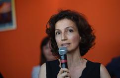 Bravant l'avis du maire Gilles Platret (LR), Audrey Azoulay s'est rendue jeudi à la 30e édition de «Chalon dans la rue».