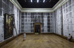Het Land Nod, du groupe flamand FC Bergman, reconstitue la salle Rubens du musée d'Anvers, pour le plus grand bonheur des spectateurs.