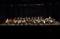 Concert du Verbier Festival Junior Orchestra sous la direction de Daniel Harding.