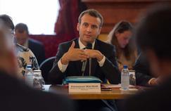 Emmanuel Macron s'est rendu à Nice, ce lundi, pour assurer les acteurs niçois de l'économie de son soutien.